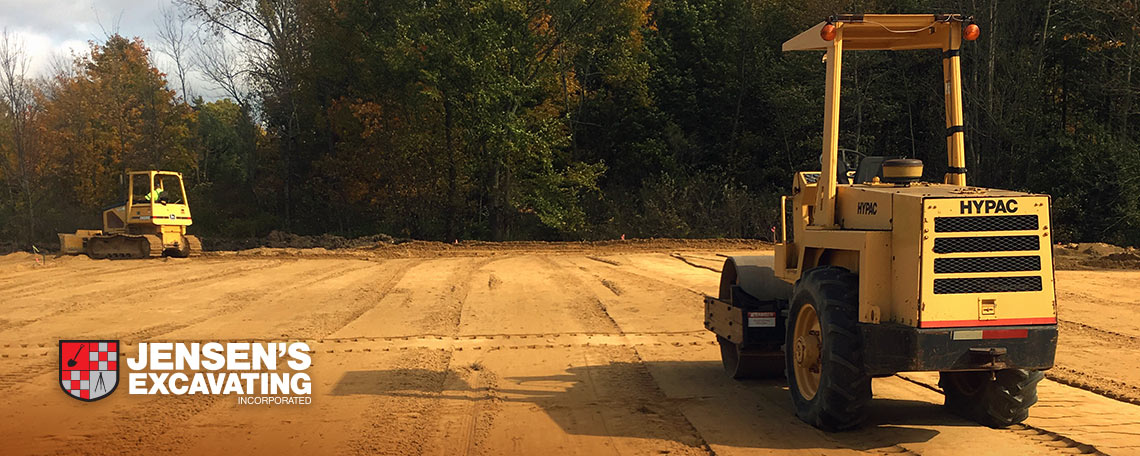 Jensen's Excavating and Grading Site Work Services